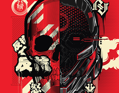 HYDRO 74 COLLAB - SKULL | MECHA HEAD CONCEPT