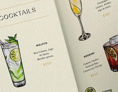 Menú | Cocktails