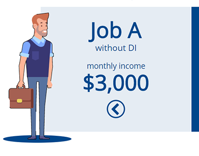 Job A - Job B: Illinois Mutual Disability Insurance