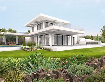 Villa Los Flamigos Marbella Spain