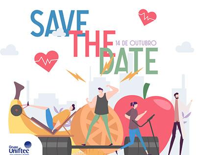 Save The Date - Novos cursos - Grupo Uniftec