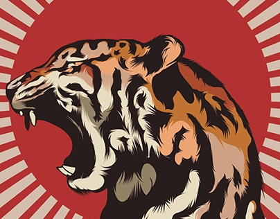 Angry Tiger Longboard