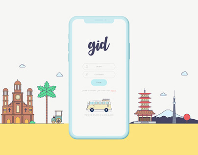 Gid - Travel App