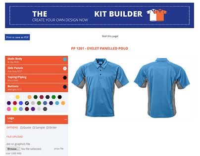 Kit Builder - Clothing customizer for E-Commerce
