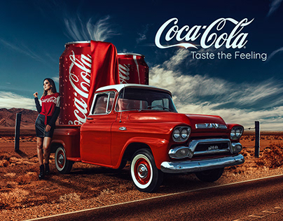 Coca Cola Ad Design