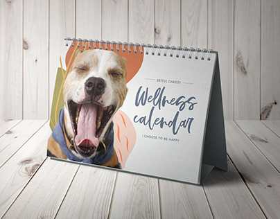 Artful Charity Wellness Calendar
