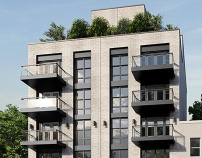 Twin Buildings | Brooklyn, NY, USA