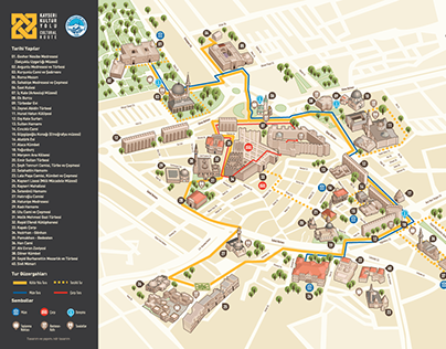 Cultural Route Map 2015