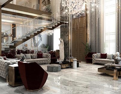 Ground floor design in Kuwait City