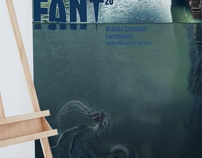 Propuesta de cartel definitivo y bocetos para Festival