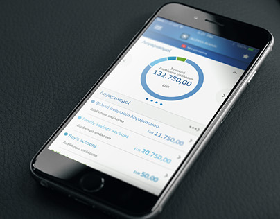 Alpha Mobile Banking - Redesign visual case study.