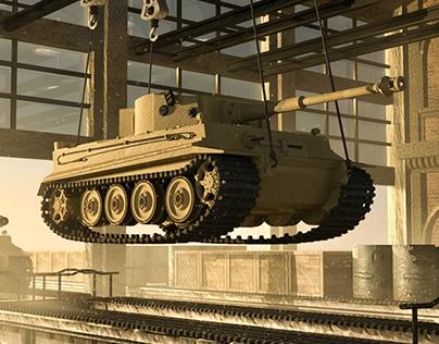 Henschel Tiger Tank Factory
