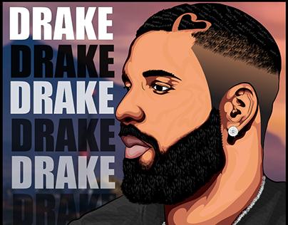 Cover Art GTA V featuring Drake cover, poster.[Fanart]