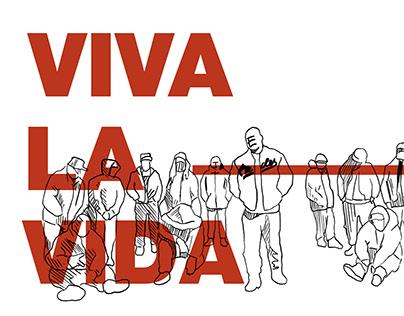 VIVA LA VIDA - rotoscoping animation
