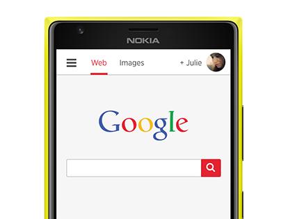 Google Rebranding concept (2014)