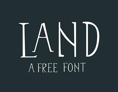 Land - Free Font