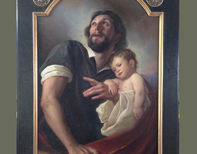 Copy of Joseph and the Christ Child