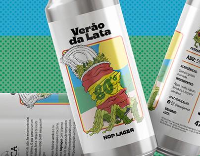 Roca - Hop Lager Label Design
