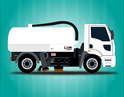 Camión Barredor / Truck Sweeper