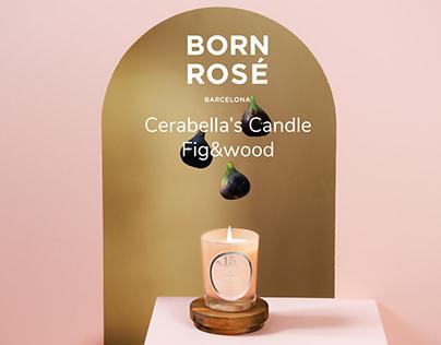 Born Rosé BCN - Fig&Wood candle