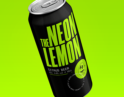 Branding and Label Design - Brand Citrus Beer