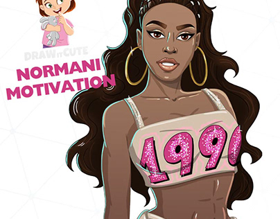 How to draw Normani Motivation