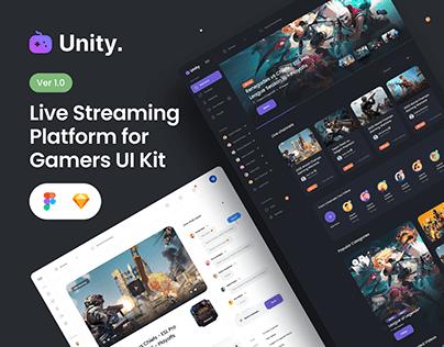 Unity Gaming UI Kit