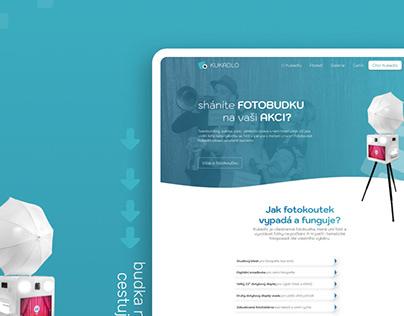 Kukadlo - web pro fotobudku