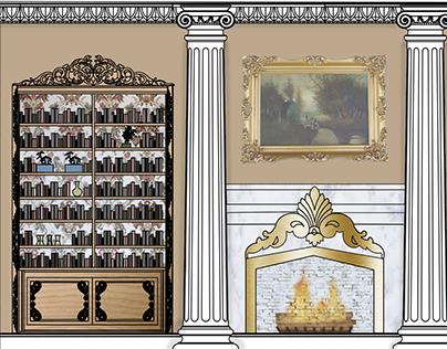 Ambassador's Suite: French Rococo.