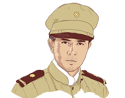 GOYO (Ang Batang Heneral) Illustrated Portrait