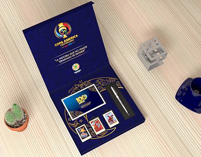 Invitación - Lanzamiento trofeo Copa América Centenario