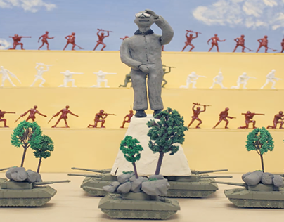 Beirut Animated Stop Motion