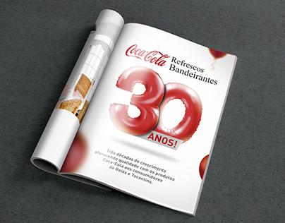 30 ANOS REFRESCOS BANDEIRANTES