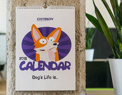 The Dog Cal 2018