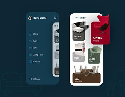 App Design to Buy Furniture Online