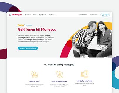 Moneyou - Redesign Public Website