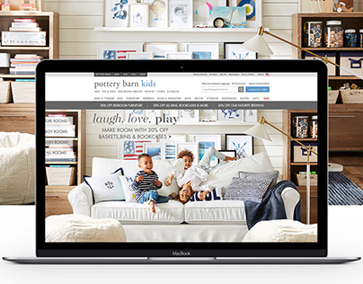 Pottery Barn Kids Homepages
