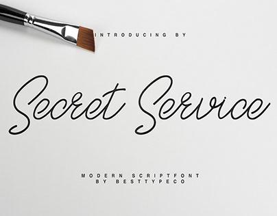 SECRET SERVICE - FREE MODERN SCRIPT