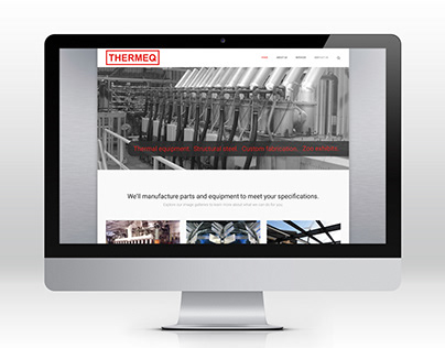 Thermeq - Website & Brochure