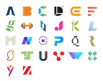 Alphabet Logos (2010-2019)