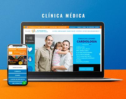 Site da Clínica Renacor Nutriinsports