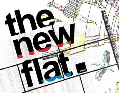 Catalog for 'The New Flat' collection of miinu carpets