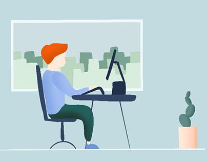Motion Graphics: prevenció de riscos laborals