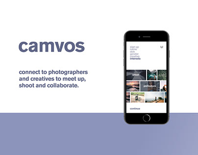 Camvos: Connecting Photographers & Creatives