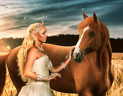 The horse queen photo manipulation