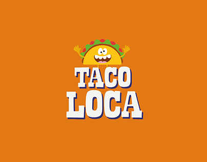 Taco Loca - Mexican restaurant brand identity