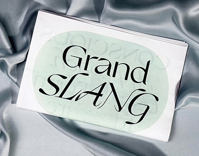 Grand Slang Typeface