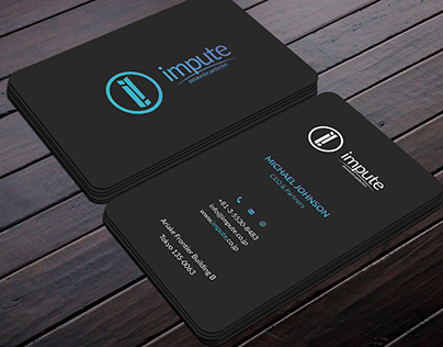 Eye catching, Modern,Clean,Minimal Business card