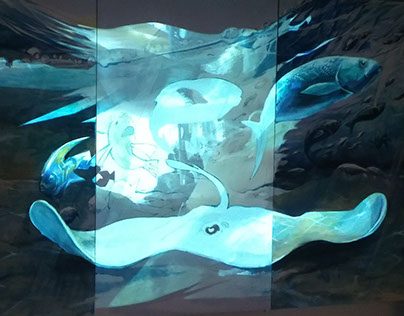 Digital Projection Art