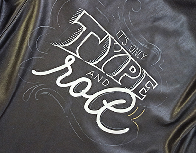 It's only Type and Roll - an handlettering project